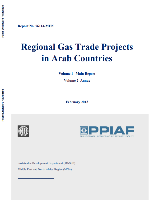 Regional Gas Trade Projects in Arab Countries | Global